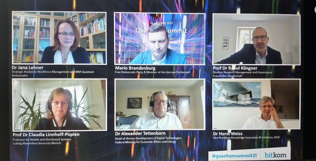 """Panel-Vortrag """"Quantum Summit 2021"""""""